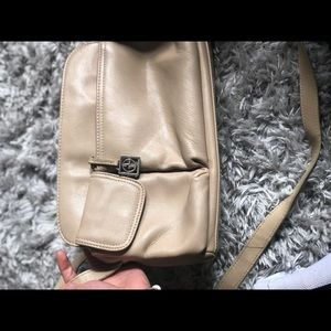 Giani Bernini nude crossbody bag!